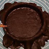 浓情蜜意巧克力派的做法图解8