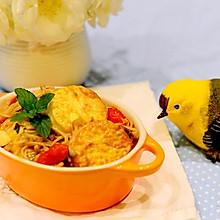 家常菜-金针菇日本豆腐(煲)