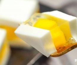 芒果椰汁糕 | 冰箱做的夏日甜品的做法