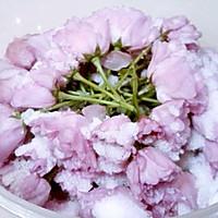 盐渍樱花(蜜渍樱花)的做法图解6
