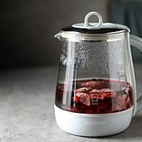 韩国柚子茶食谱—好喝的冬日热饮 洛神花果茶的做法图解4