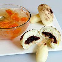 星空蘑菇豆沙包  #不思烤就很好#  老板S205蒸箱试用的做法图解8