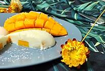 芒果椰汁牛奶冻(快手零基础)的做法