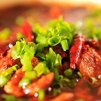 水煮肉片—迷迭香的做法图解13