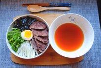泡菜汤牛肉荞麦面的做法