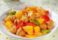 自制菠萝咕噜肉(酸甜开胃)的做法