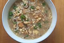 宝宝香菇虾米鸡蛋粥的做法