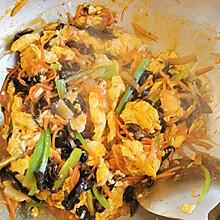 鱼香鸡蛋,费饭的菜