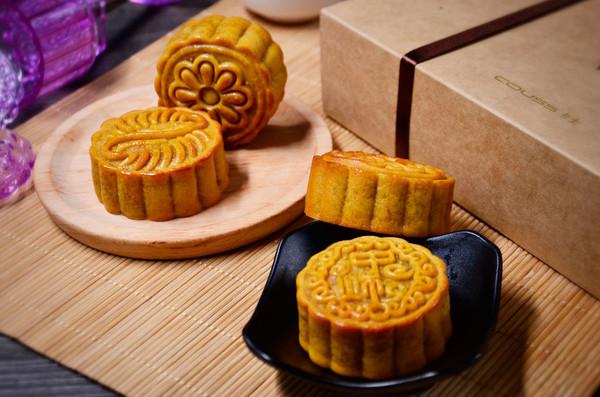【蛋黄莲蓉月饼】——COUSS CO-750A智能烤箱出品