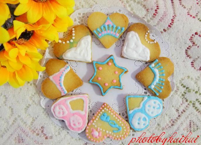 糖霜饼干--长帝烘焙节