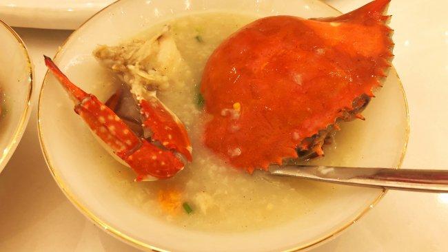 虾蟹海鲜粥的做法