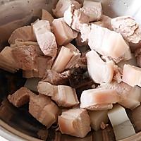 过年大菜-木耳魔芋红烧肉#盛世锦食・忆年味#的做法图解4