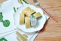 黑芝麻米饭卷 宝宝辅食食谱的做法