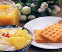 电饭煲菠萝饭+菠萝酱的做法