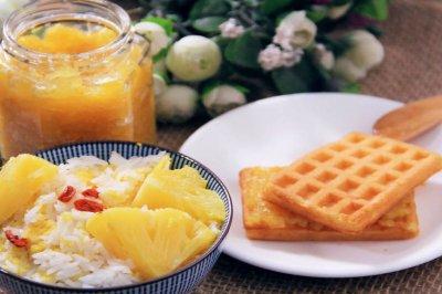 电饭煲菠萝饭+菠萝酱