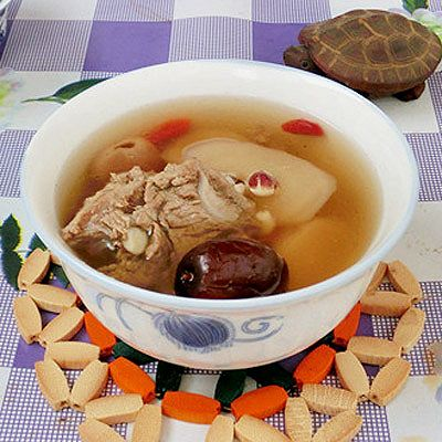 芡实淮山猪骨汤