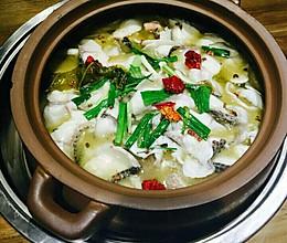 酸菜鱼(黑鱼)的做法