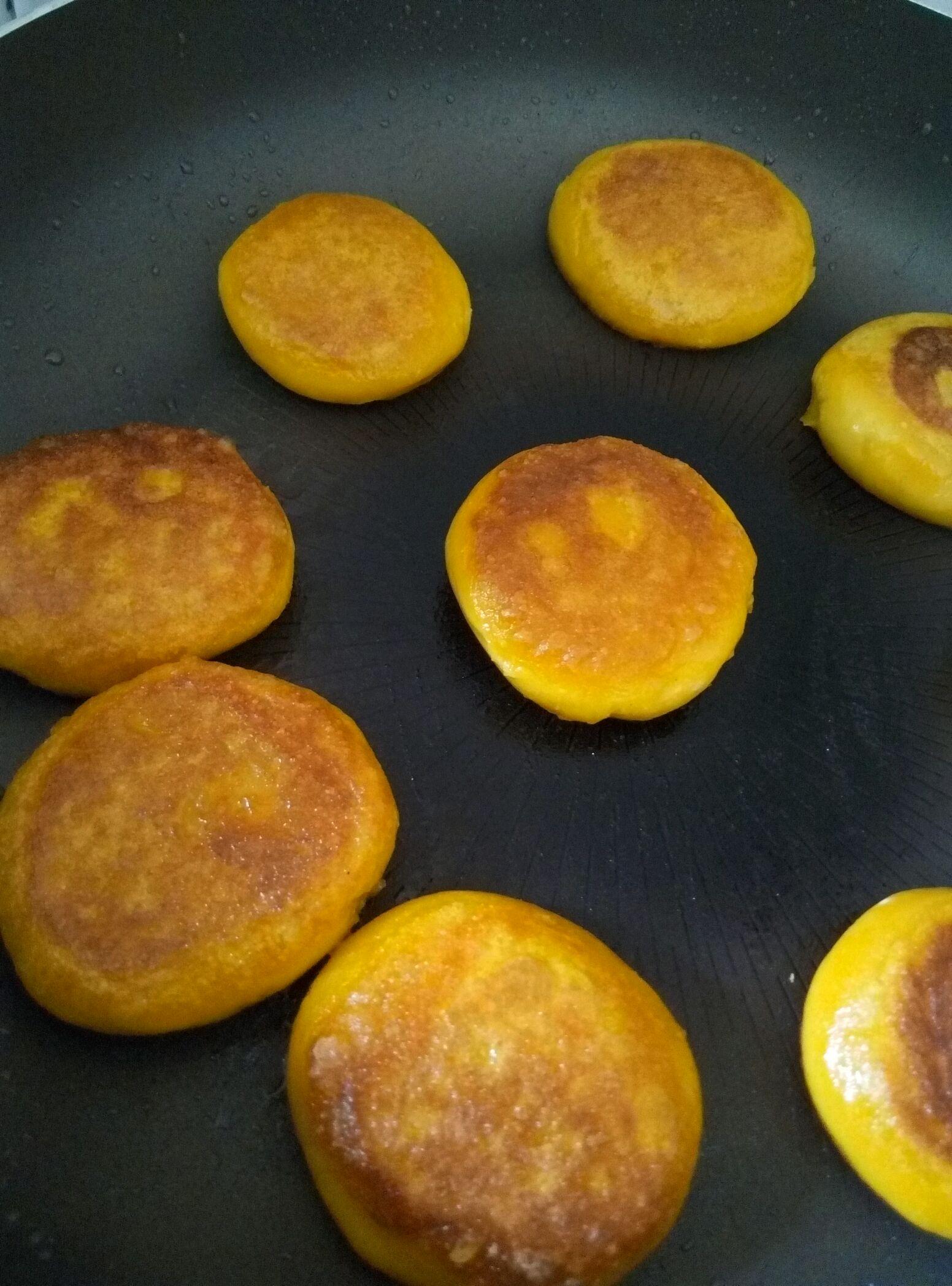 煎南瓜饼o的做法步骤