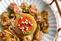 #中秋团圆食味#超赞的下酒菜~豆皮香肠卷的做法