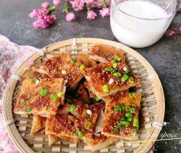 #换着花样吃早餐#让你欲罢不能的酱香饼的做法