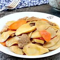 #厨此之外,锦享美味#杏鲍菇炒肉片