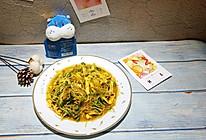 #美食新势力#清热降火的黑豆苗烩粉丝的做法
