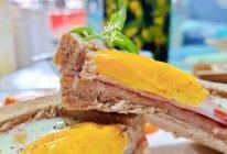 #我们约饭吧#太阳蛋三明治的做法