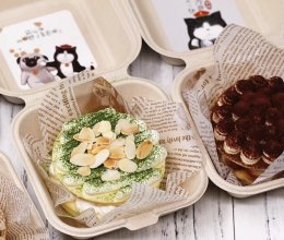 #带着零食去旅行!#网红便当盒蛋糕的做法