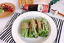 #名厨汁味,圆中秋美味#麻汁油麦菜的做法