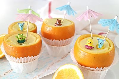 橙子里的炖蛋,帮助宝宝夏天补充满满营养