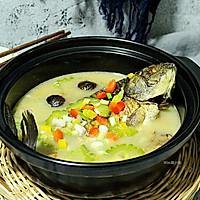 营养鲜汤【黑蒜苦瓜鲫鱼汤】#每道菜都是一台食光机#