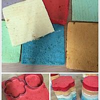 迷你彩虹裸蛋糕的做法图解4