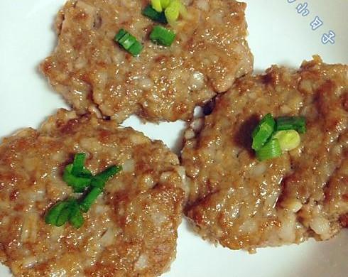 藕香小肉饼