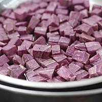 紫薯牛奶西米露的做法图解3