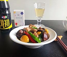 #名厨汁味,圆中秋美味#香菇栗子鸡的做法