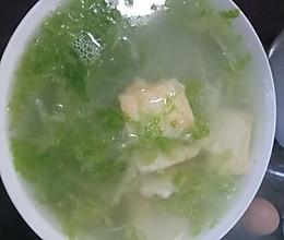 大白菜豆腐粉丝汤的做法