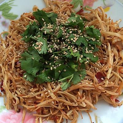 酱烤金针菇(空气炸锅版)