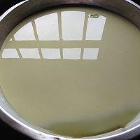 椰汁抹茶红豆糕的做法图解5