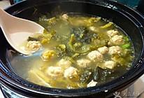 酸菜丸子汤的做法