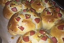火腿葱花面包的做法
