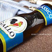 橄露Gallo经典特级初榨橄榄油试用之四——西兰花蘑菇烩虾仁的做法图解3