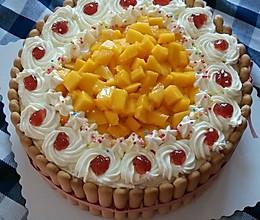 爱心蛋糕的做法