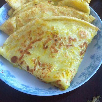 鸡蛋南瓜饼