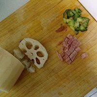 藕香燕麦玉米瘦身粥的做法图解3