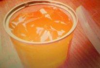 橙橙果冻的做法
