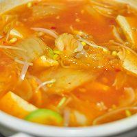 韩式泡菜风味汤面的做法图解4