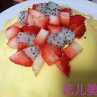 草莓千层可丽饼的做法图解11