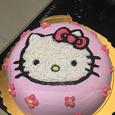 可爱8寸生日蛋糕