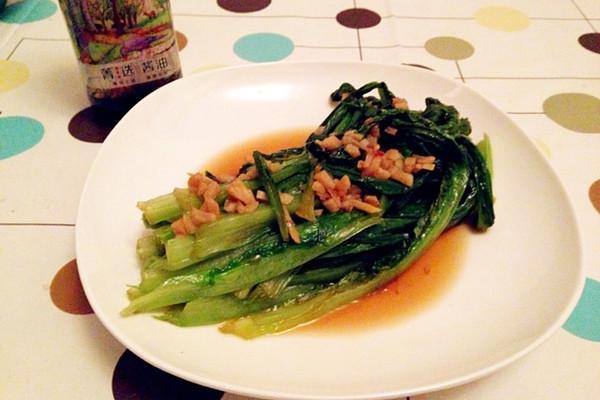 【菁选酱油试用】清口油麦菜的做法