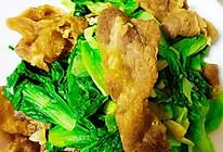 减肥期间也可以食用的蔬菜炒牛肉片的做法